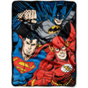 Justice League Throw