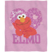 Sesame Street Elmo Sweatshirt Throw