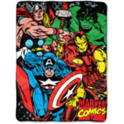Captain America Avengers Throw