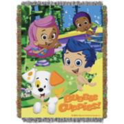 Nickelodeon Bubble Guppies Tapestry Throw