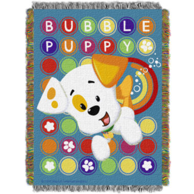 jcpenney.com | Nickelodeon Bubble Guppies Tapestry Throw