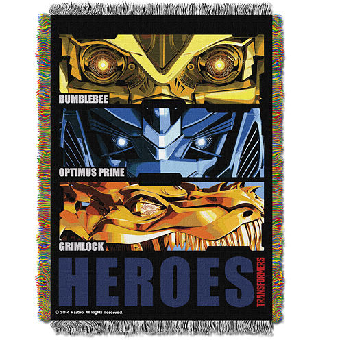 Transformers Tapestry Throw