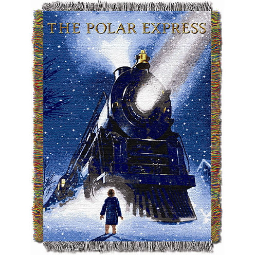 Polar Express Tapestry Throw