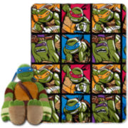 Teenage Mutant Ninja Turtles Throw and Pillow Set