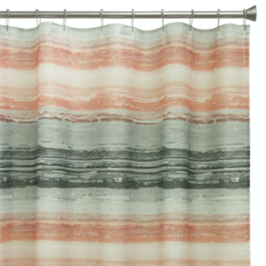 jcpenney.com | Bacova Portico Stripe Shower Curtain