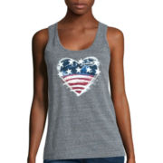 Levi's® Painted Heart Americana Easy-Fit Tank Top