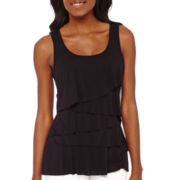Liz Claiborne® Tiered Tank Top