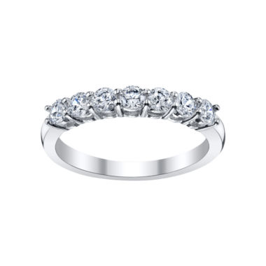 jcpenney.com | DiamonArt® Cubic Zirconia Oval Band Ring