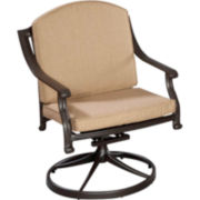 Covington Cushioned Swivel Chair