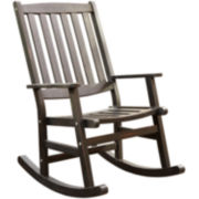 Bali Hai Wood Outdoor Rocking Chair