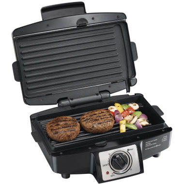 jcpenney.com | Hamilton Beach® Easy-Clean Indoor Grill + Removable Grids