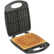 Hamilton Beach® 4-Square Belgian Waffle Maker