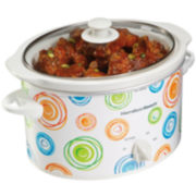 Hamilton Beach® Swirl 3-qt. Oval Slow Cooker