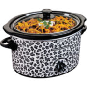 Hamilton Beach® Cheetah 3-qt. Oval Slow Cooker