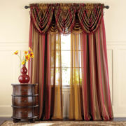 Royal Velvet® Dorset Stripe Rod-Pocket Sheer Panel