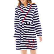 Comfort and Co. Long-Sleeve Fleece Robe