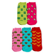 5-pk. Low-Cut Character Socks