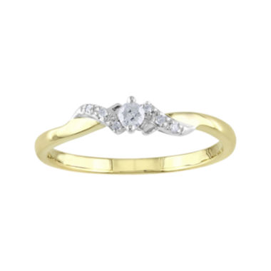 jcpenney.com | 1/10 CT. T.W. Diamond Ring