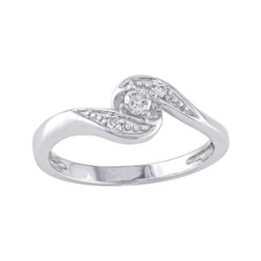 jcpenney.com | Diamond-Accent Swirl Ring