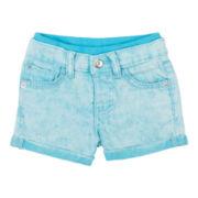 Lee Knit Waist Twill Shorts - Girls 12m-4y