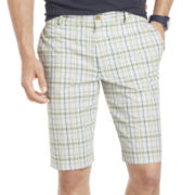 IZOD® Plaid Seersucker Shorts