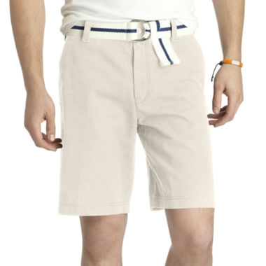 jcpenney.com | IZOD Flat-Front Shorts