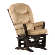 Dutailier® Modern Glider - Medium Brown