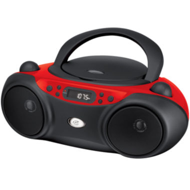 jcpenney.com | GPX BC232R Sporty CD and Radio Boombox