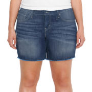 Levi's® Denim Cut-Off Shorts - Plus