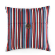 Indoor/Outdoor Striped Decorative Pillow