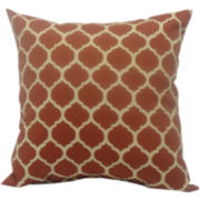 Courtyard Trellis Decorative Pillow