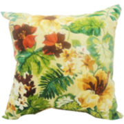 Santorinia Zinnia Decorative Pillow