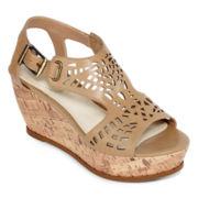 Studio Paolo® Fargo Wedge Sandals