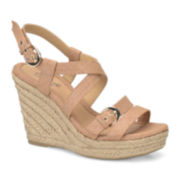Eurosoft™ Persia Slingback Wedge Sandals