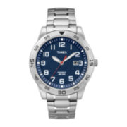 Timex® Mens Stainless Steel Expansion Strap Sport Watch TW2P615007R