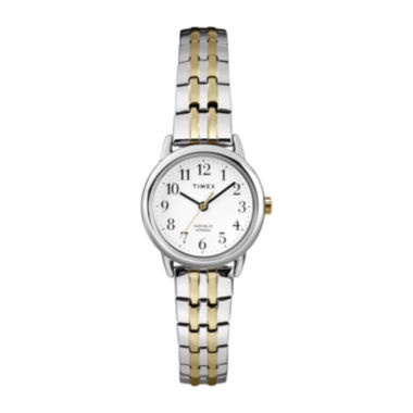 jcpenney.com | Timex® Womens Two-Tone Stainless Steel Expansion Bracelet Watch T2P2987R