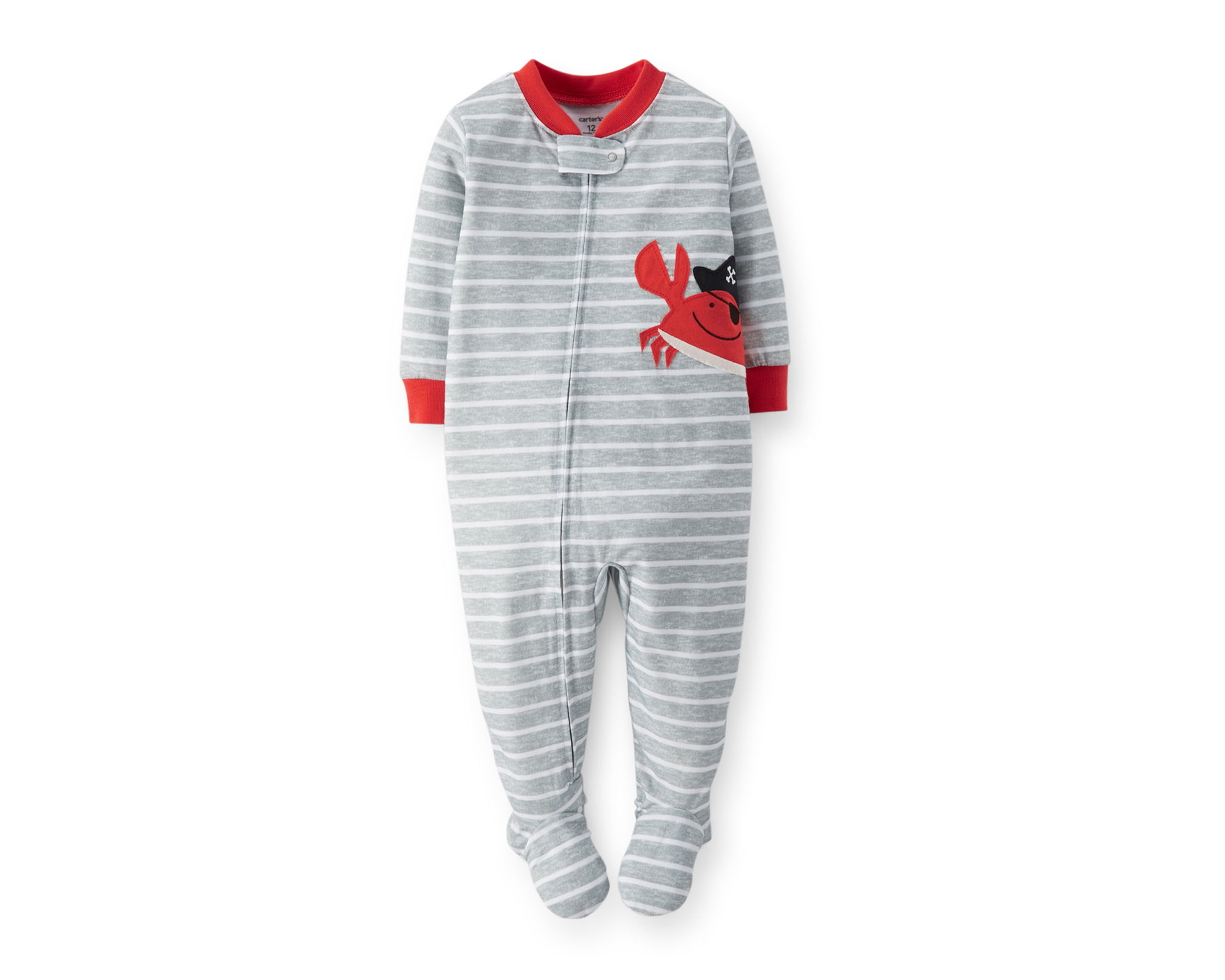 UPC 888510440963 - Carter's Pirate Crab Footed Pajamas - Toddler ...