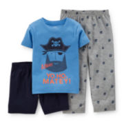 Carter's® 3-pc. Pirate Pajama Set – Toddler Boys 2t-5t