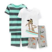 Carter's® 4-pc. Surfer Dog Pajama Set – Baby Boys 6-24m