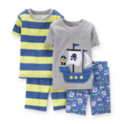 Carter's® 4-pc. Pirate Ship Pajama Set – Baby Boys 6-24m