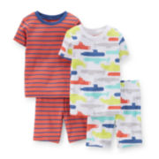 Carter's® 4-pc. Submarine Pajama Set - Baby Boys 6-24m