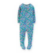 Carter's® Floral Footed Pajamas – Baby Girls 12-24m