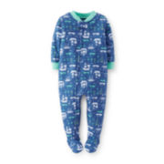 Carter's® Sailboat Footie Pajamas - Toddler Boys 2t-5t