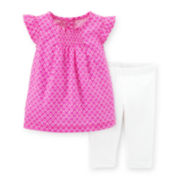 Carter's® Geo Print Top and Leggings Set - Toddler Girls 2t-5t