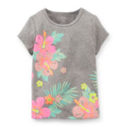 Carter's® Tropical Flower Tee – Toddler Girl 2t-5t