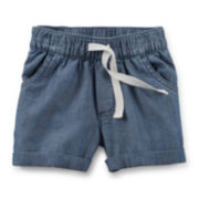 Carter's® Chambray Shorts – Toddler Girl 2t-5t