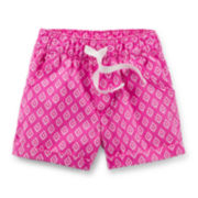 Carter's® Pink Geo Print Shorts - Toddler Girl 2t-5t