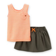 Carter's® Striped Tank Top and Skorts Set - Toddler Girls 2t-5t