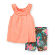 Carter's® Tank Top and Bike Shorts Set - Toddler Girls 2t-5t