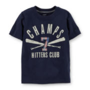 Carter's® Baseball Tee – Toddler Boys 2t-5t